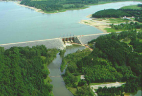 Photo of Shand Dam